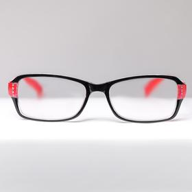Glasses corrective 1320, color red-black +3