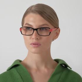 Glasses corrective 1320, color red-black +3.5 mm