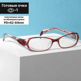 Glasses corrective 8852, color maroon, -1