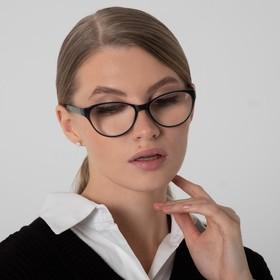 B 86018 corrective glasses, black, +5