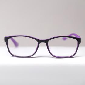 B 18055 corrective glasses, purple, +5