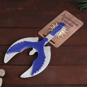 Деревянный клинок «Топор-крылья» 35 см