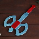 Деревянный клинок «Топор-рыцарь» 35 см - фото 105640483