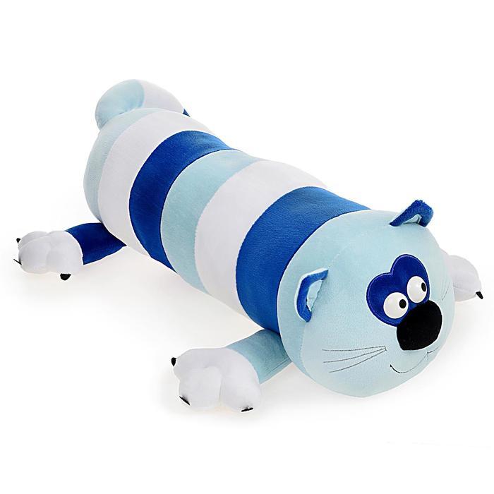 Мягкая игрушка «Кот-Батон», цвет голубой, 56 см - фото 1054994