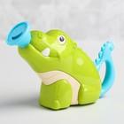 Игрушка для купания «Крокодильчик», брызгалка - фото 105534361