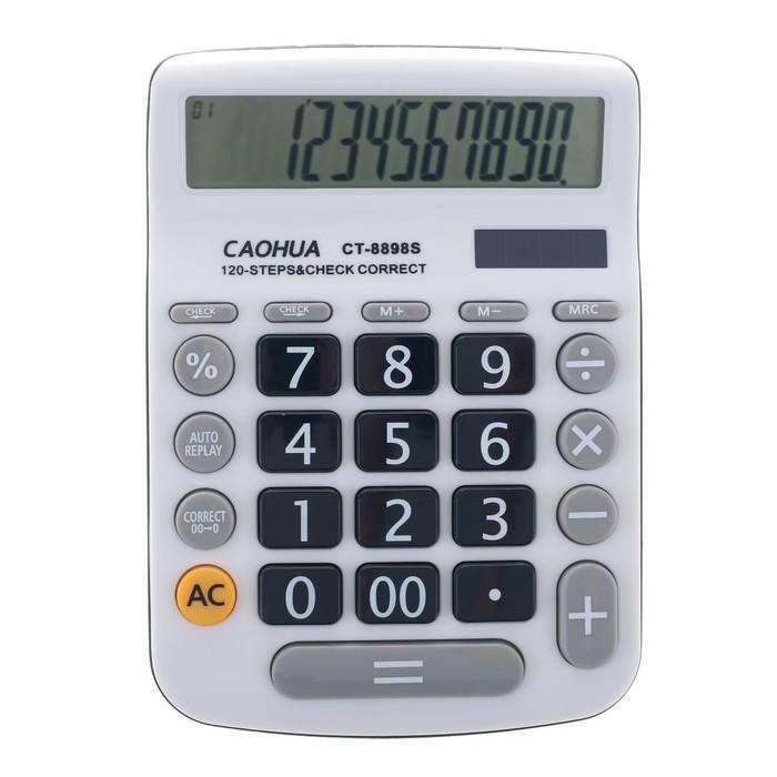 Калькулятор настольный 12-разрядный CT-8898S двойное питание