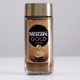 Кофе Nescafe Gold Crema, растворимый, 95 г