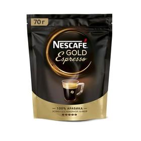 Кофе Nescafe Gold, Эспрессо, 70 г