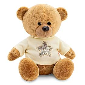 Мягкая игрушка «Медведь Топтыжкин» звезда, цвет коричневый 25 см