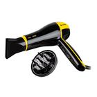 Фен Vitek Icon VT-2295 Y, 2200 Вт, 6 режимов, ионизация, чёрно-жёлтый