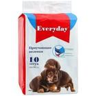 """Пеленки EVERYDAY """"Чистый хвост"""" для собак, гелевые, 60 х 90 см, 10 шт"""