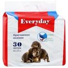 """Пеленки EVERYDAY """"Чистый хвост"""" для собак, гелевые, 60 х 45 см, 30 шт"""