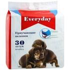 """Пеленки EVERYDAY """"Чистый хвост"""" для собак, гелевые, 60 х 60 см, 30 шт"""