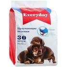 """Пеленки EVERYDAY """"Чистый хвост"""" для собак, гелевые, 60 х 90 см, 30 шт"""