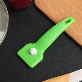 Скребок для чистки стеклокерамических плит, цвет МИКС
