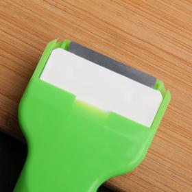 Скребок для чистки стеклокерамических плит, цвет МИКС - фото 4648381