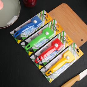Скребок для чистки стеклокерамических плит, цвет МИКС - фото 4648382