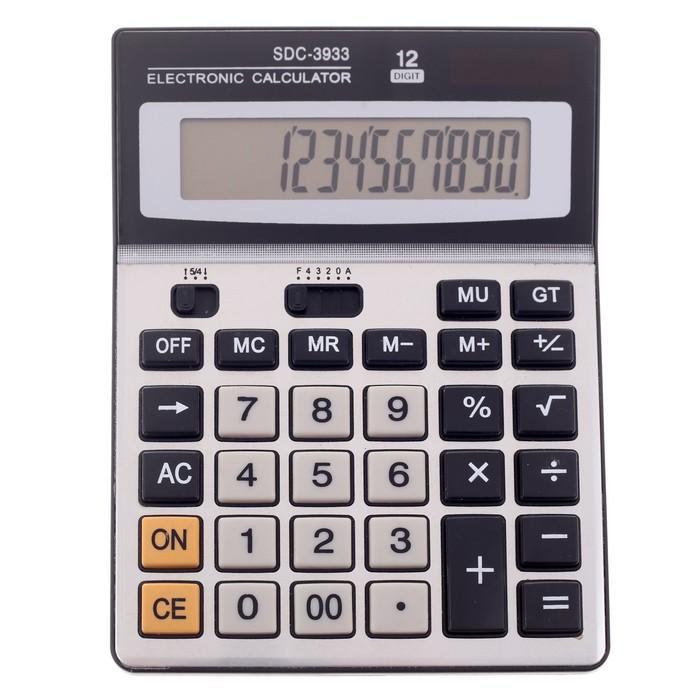Калькулятор настольный 12-разрядный SDC-3933
