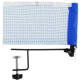 Сетка для настольного тенниса SWIFT HIT, 180 х 14 см, с крепежом, цвет синий