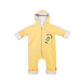 Комбинезон для новорождённого «Лимончелло», рост 62 см, цвет жёлтый