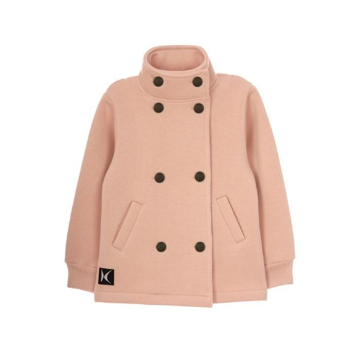 Жакет для девочки, рост 110-116 см, цвет светло-розовый