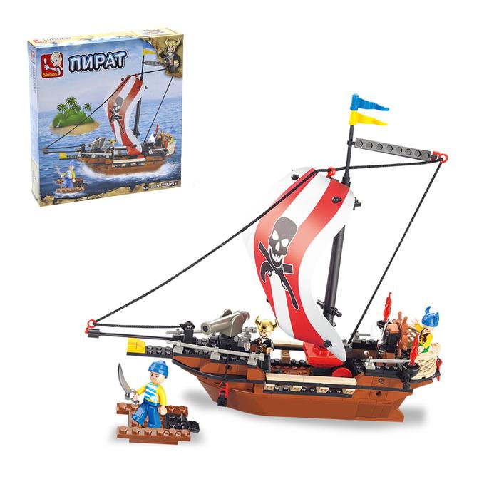 Конструктор «Корабль», 226 деталей - фото 105634329