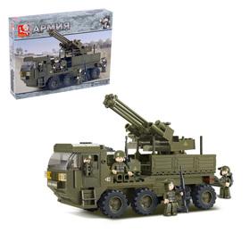 Конструктор «Передвижной пулемёт», 306 деталей
