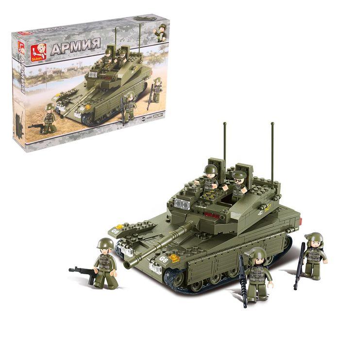 Конструктор «Сухопутные войска 2: Танк», 344 детали