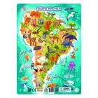 Пазл в рамке 53 элемента «Южная Америка»