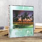 """Фотоальбом BRAUBERG на 20 магнитных листов, 23х28 см, """"Курорт"""" - фото 833974"""