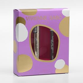 """Подарочный набор Vivienne Sabo (тушь """"Cabaret premiere"""" т. 01"""" +Карандаш для бровей тон 001)   47301"""