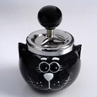 "Ashtray smokeless ""cat"", 14х10 cm, mix"