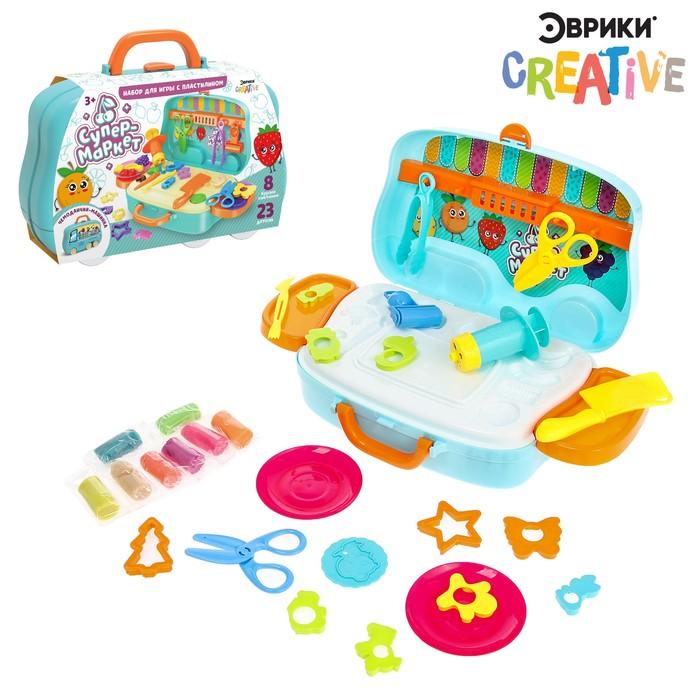 Набор для игры с пластилином «Супермаркет»