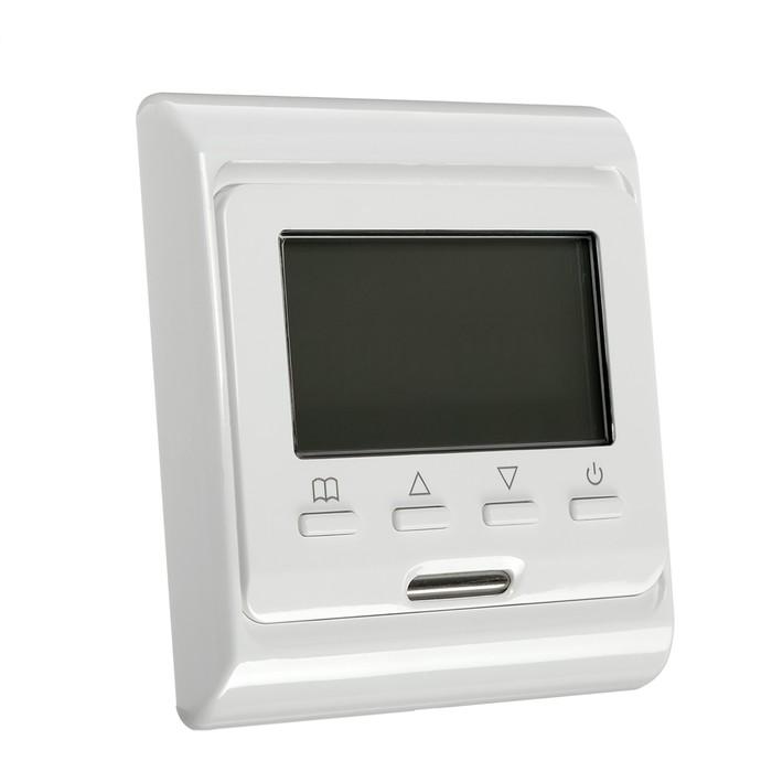 Терморегулятор RTC E 51.716, электронный, 16 А, 3500 Вт, датчик пола и воздуха
