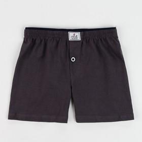 Трусы-боксеры для мальчика, цвет коричневый, рост 122-128 см