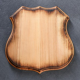 Медальон под трофеи 'Премиум', 20 х 20 см, массив ясеня Ош