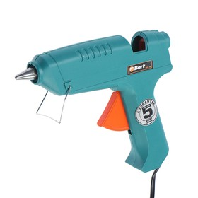Glue gun Bort BEK-40, 40 W, d = 11 mm, 8-12 g / min, heating time 3-5 min