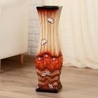 """Ваза напольная керамика """"Полёт бабочки"""" 15*60 см, микс"""