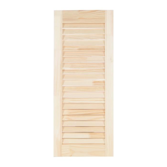 Жалюзийная дверь, 71,5×29,4см