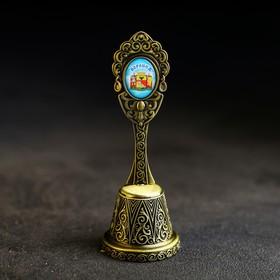 Колокольчик в форме кокошника «Воронеж. Котёнок с улицы Лизюкова»