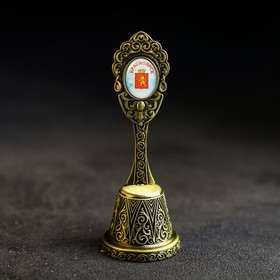 Колокольчик в форме кокошника «Красноярск. ЖД вокзал»