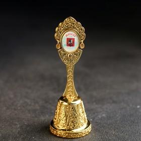 Колокольчик в форме кокошника «Москва. Храм Христа Спасителя»