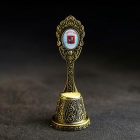 Колокольчик в форме кокошника «Москва. Храм Василия Блаженного»
