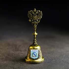 Колокольчик в форме герба «Курск. Триумфальная арка»