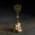 "Bell ""coat of Arms"" (Perm - Permyak salty ears), 11.8 x 4.2 cm"