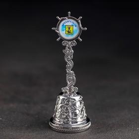 Колокольчик в форме штурвала «Архангeльск. Корабль»