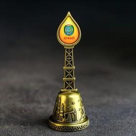 Колокольчик в форме капли «ХМАО» Ош