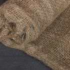 Лён натуральный, 0.95 × 5 м, плотность 190 г/м², плетение 34/24