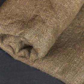Лён натуральный, 1.06 × 5 м, плотность 360 г/м², плетение 69/44 Ош