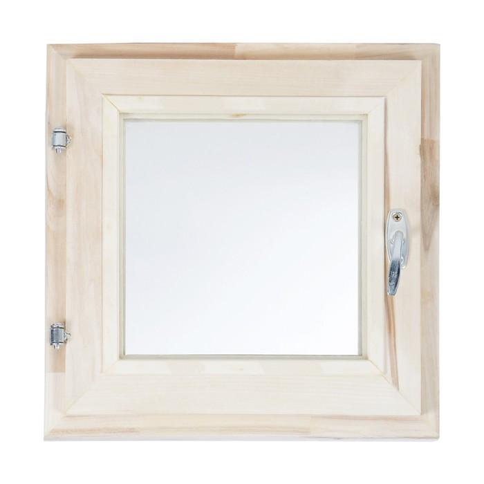 Окно 40х40 см, двойное стекло